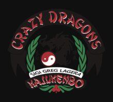 Crazy Dragons Kajukenbo Kids Tee