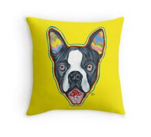 Psychedelic Charlie Throw Pillow