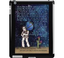 Weight of the World on His Shoulders iPad Case/Skin