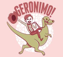Geronimo-Dino! Kids Tee