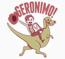 Geronimo-Dino! One Piece - Short Sleeve