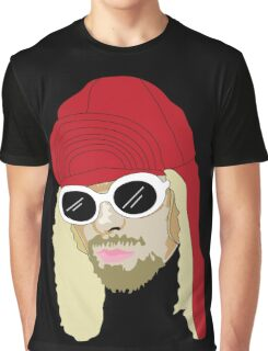KC Vector Portrait - Black Graphic T-Shirt
