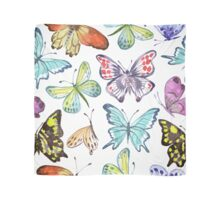 Watercolor Butterfly Pattern Scarf