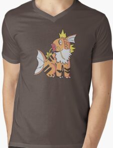 Magilithe - Pokemon Fusion Mens V-Neck T-Shirt