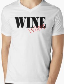 Wine Whore Mens V-Neck T-Shirt