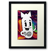 Blown To Peaces Framed Print