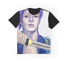 Sayonara Hitori Taemin Samurai  さよならひとり Graphic T-Shirt