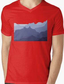 The Grand Canyon Blues Mens V-Neck T-Shirt