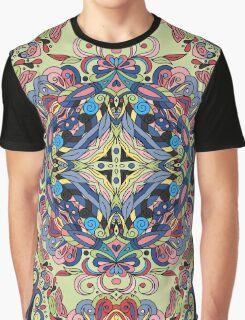 Boho Geometric Mandela Pattern Graphic T-Shirt