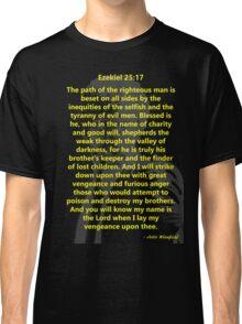 Ezekiel 25:17 Pulp Fiction Classic T-Shirt