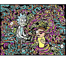 Rick And Morty Adult Swim Cartoon Photographic Print