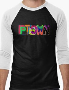 Ptown nights • Dave Hay Men's Baseball ¾ T-Shirt