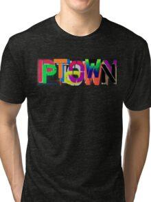 Ptown nights • Dave Hay Tri-blend T-Shirt