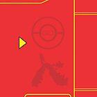 PokemonGO Team Valor Themed Pokedex Case by papaG47