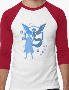 Pokemon GO - Team Mystic (no text) Men's Baseball ¾ T-Shirt