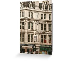 Offices to Let Greeting Card