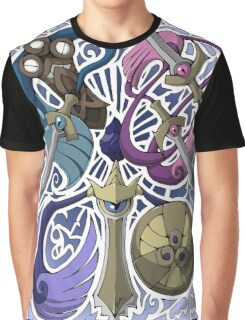 Honedge! Doublade! Aegislash! Graphic T-Shirt