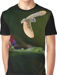 BARN OWL REFLECTION Graphic T-Shirt