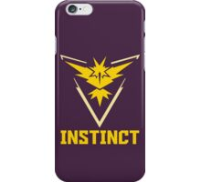 Pokemon Go! Team Instinct iPhone Case/Skin