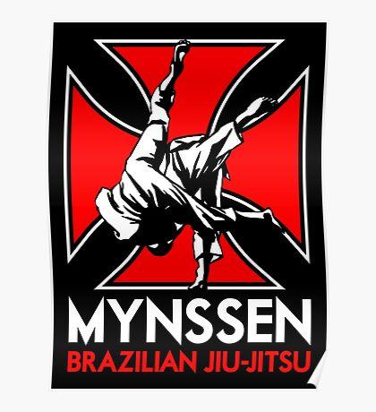Mynssen Brazilian Jiu-Jitsu Poster