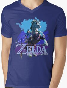 Legend of Zelda: Breath of The Wild Mens V-Neck T-Shirt