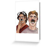 snapchat Greeting Card