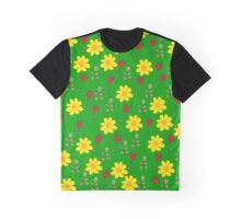 Summer green pattern Graphic T-Shirt