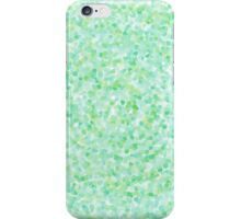 Green Mosaic Circles iPhone Case/Skin