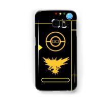 PokemonGO Alternate Team Instinct Themed Pokedex Case Samsung Galaxy Case/Skin
