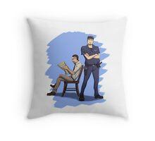 Off Duty Throw Pillow