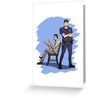 Off Duty Greeting Card