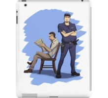 Off Duty iPad Case/Skin