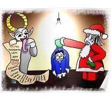 Christmas Interrogation Poster