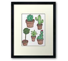 Plant Friends Framed Print