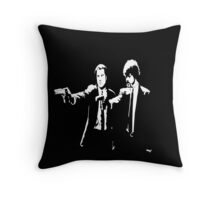 Pulp Fiction Jules & Vincent Throw Pillow