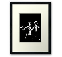 Pulp Fiction Jules & Vincent Framed Print