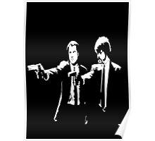 Pulp Fiction Jules & Vincent Poster
