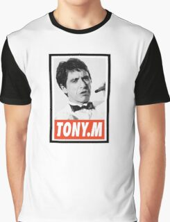(MOVIES) Tony Montana Graphic T-Shirt
