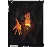 Playing with Matches iPad Case/Skin