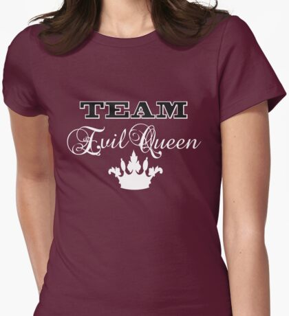 Team Evil Queen Womens Fitted T-Shirt