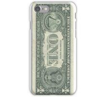One Dollar Bill iPhone Cover iPhone Case/Skin