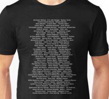 Black Lives Matter - 07/07/2016 (White Font) Unisex T-Shirt