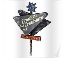 Starlite Starbrite Trailer Court Poster