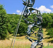 Le Rane Acrobatiche, Il Giardino di Daniel Spoerri, Seggiano, Tuscany, Italy by Andrew Jones
