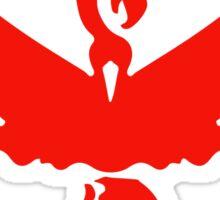 Pokemon GO Team Valor | Team Red Sticker
