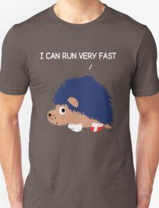 Blue Hedgehog Unisex T-Shirt