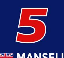 F1 Legends - Nigel Mansell [Williams] Sticker