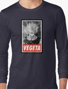 (MANGA) Vegeta Long Sleeve T-Shirt