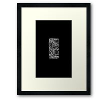 Linear Flow Framed Print