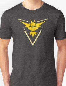 Pokemon GO Team Instinct | Team Yellow Unisex T-Shirt